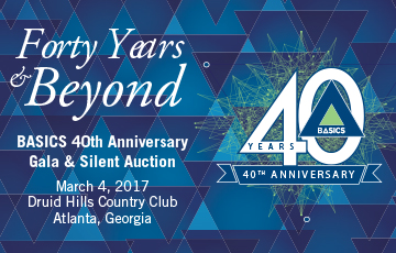 Buy tickets! BASICS 40th Anniversary Gala