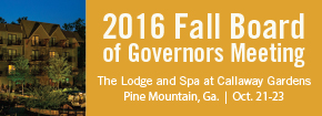 2016 Fall Board of Governors Meeting