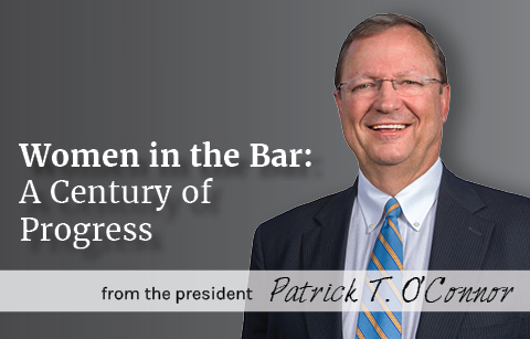 Women in the Bar: A Century of Progress